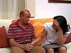 Italian teen with old man