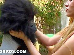 BANGBROS - Rebecca Blue, Tara Lynn Fox and Katie Summers Monkey Around