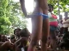 Jamaican Going Crazy On The Party Competition