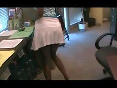 Ebony Public Flashing: Heidi