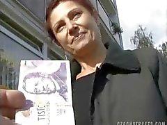 TŠEKIN KADUILLA - MILF ALENA Sucks Dick Cash