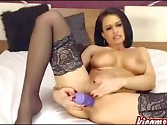 Best brunette perfect camgirl masturbates for you!