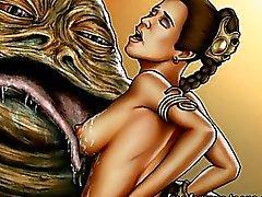 Star Wars orgioita