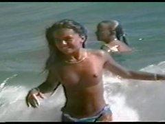 cute tits at the beach