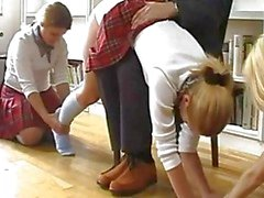 Schoolgirls Spanked Ve Caned