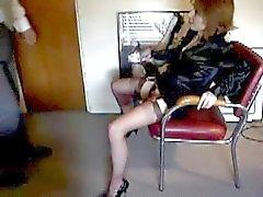 Secretário sexo bizarro e seu chefe