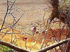 Könsbestämma på stranden 2 Gamal man knullar ung flicka