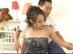 Astounding Yuu Shiraishi enjoys rough sex