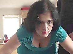 Matür Montse Swinger acımasız delinen zevk alıyorum