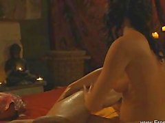 Erotic Tantra handjob From India