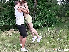 Foreplay in the grass