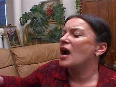 Piss; Older Chubby Woman 4