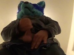 Under Of Me Pawing In My Own Fursuit Chance