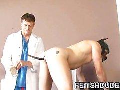 Médico de DILF un humillar a de su del cliente