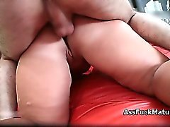Fat old mature lady loves getting fucked