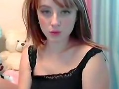 Angelic Hot Sexy Babe Angelina Teasing on Cam - Cam2Luv