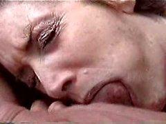 Sara swallowing my sperm