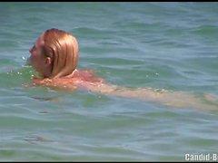 Voyeur Beach Nudist Amateur Shaved pussy Milfs Spycam