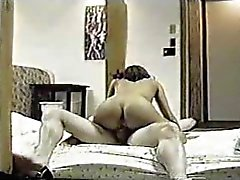 Young Latina prostituerad jävla en vit kille