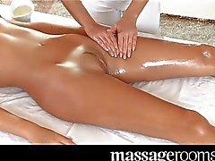 Massage Rooms - Beautiful teen lesbians
