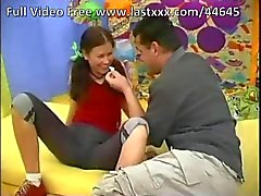 Extremely Cute Brunette Codino teenager che