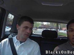 Sean di Dean lavora alle sue Per prima Black Cock