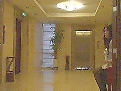 Audrey Crossdressing Weg Anzahl in Hotel