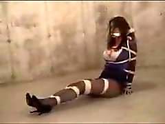 Lindsay sinclaire tied in basement