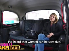 Female Fake Taxi Skinny Czech lesbians with great tits