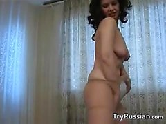Mature Russian Woman Strips And Dances