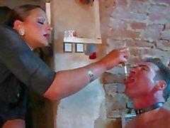 BDSM köle aşağılayıcı lanet