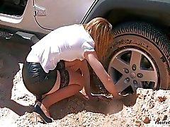 Car Stuck Test Drive Trouble