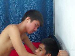 Hetero Asian Boy Barebacks Skinny Twink
