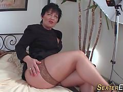 Bystiga german milf sucks