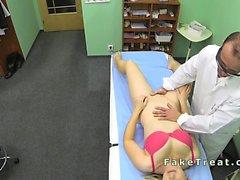 Doctor fucks milf patient
