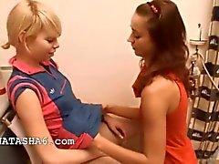 E Natascia Alice piace delle ragazze d'amore