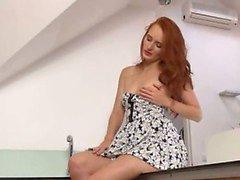 Pissar redhead klä kast