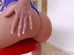 Jules Jordan - Jada Stevens Big Booty Is Ready For More Black In Her ASS!