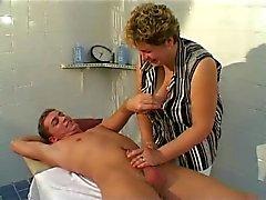 Massagem BBW madura