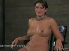 Hot Curvy MILF Penny Barber takes it Bound in Piledriver