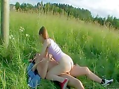 Brutal babysitters anal outdoor sex