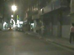 Catturato su nastro di cazzo di su un taxi Spagna