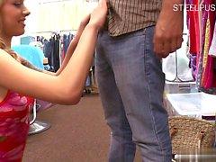 Girlfriend spanking