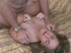 Teeny Tania fucking older guy