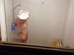shower voyeur wife