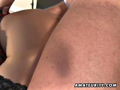 A youthful blondy amateur gf homemade xxx activity with