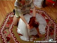 Donatella - Hot Drunken Russian Redhead Bride Fucked Hard