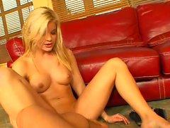 Hot anal fucking a sexy blonde hard