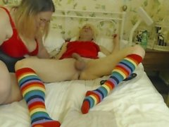 blonde gilf analfist tiny boy grandson deep in his sissy ass