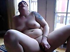 Tattooed großen titted Rotschopf Bianca anal -Fick
